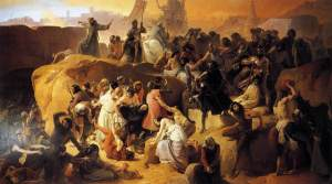 Hayez,_Fracesco_-_Crusaders_Thirsting_near_Jerusalem_-_1836-50