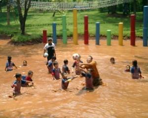 kolam lumpur